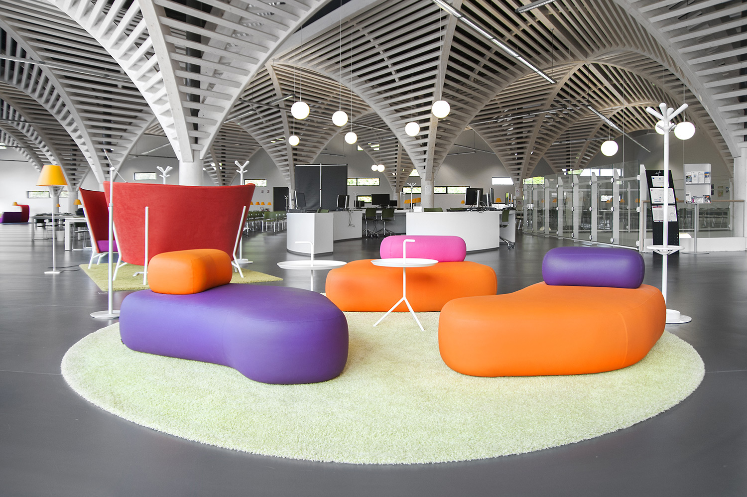 Perfect Caen University Library, France   Academic Libraries