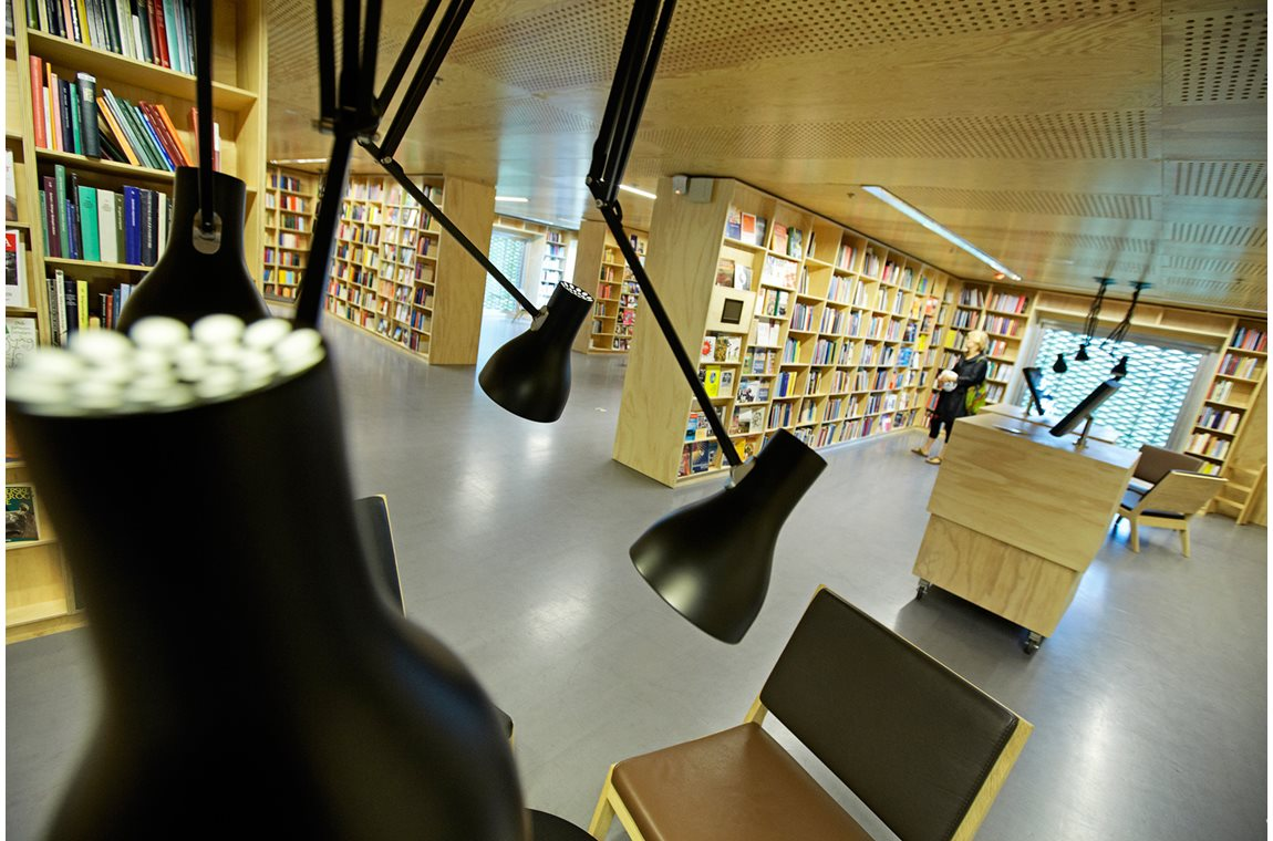Rentemestervej Library and Cultural Centre NW, Denmark - Public libraries