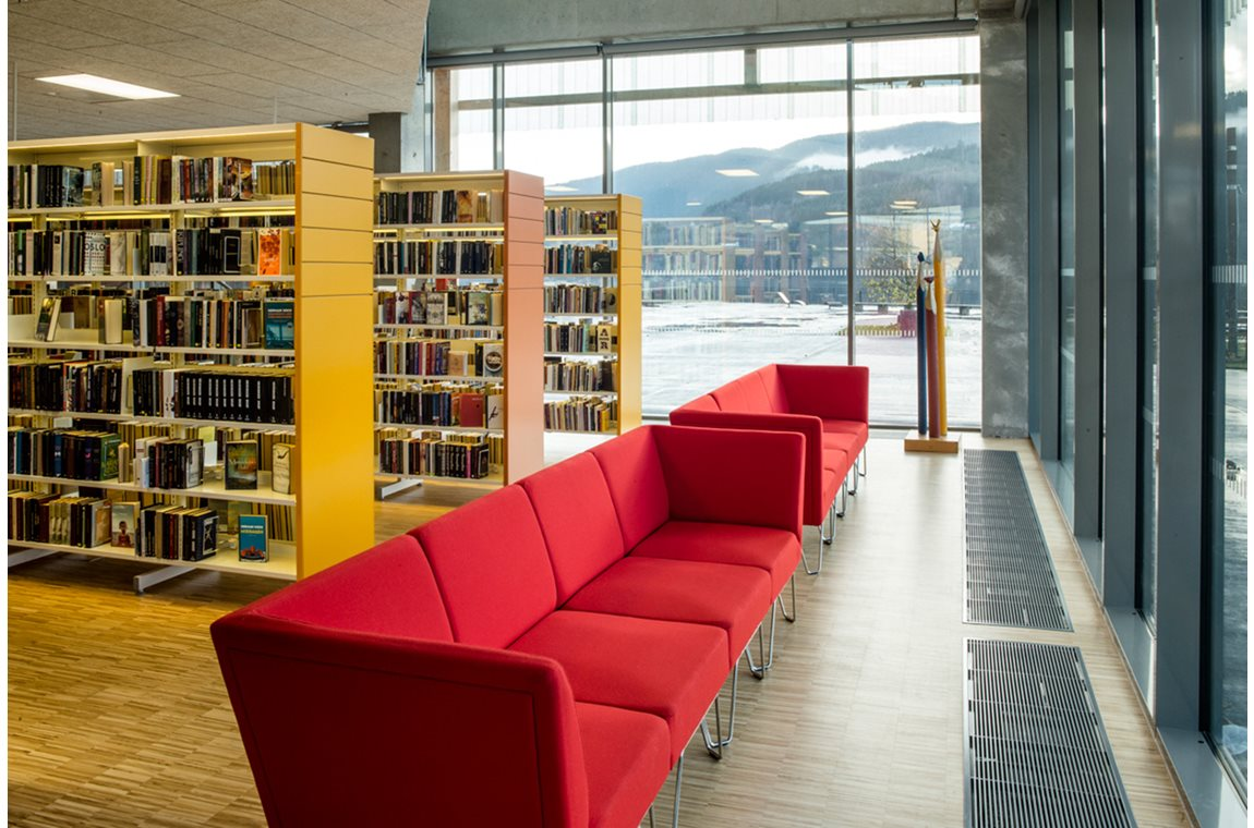 Notodden Public Library, Norway - Public libraries