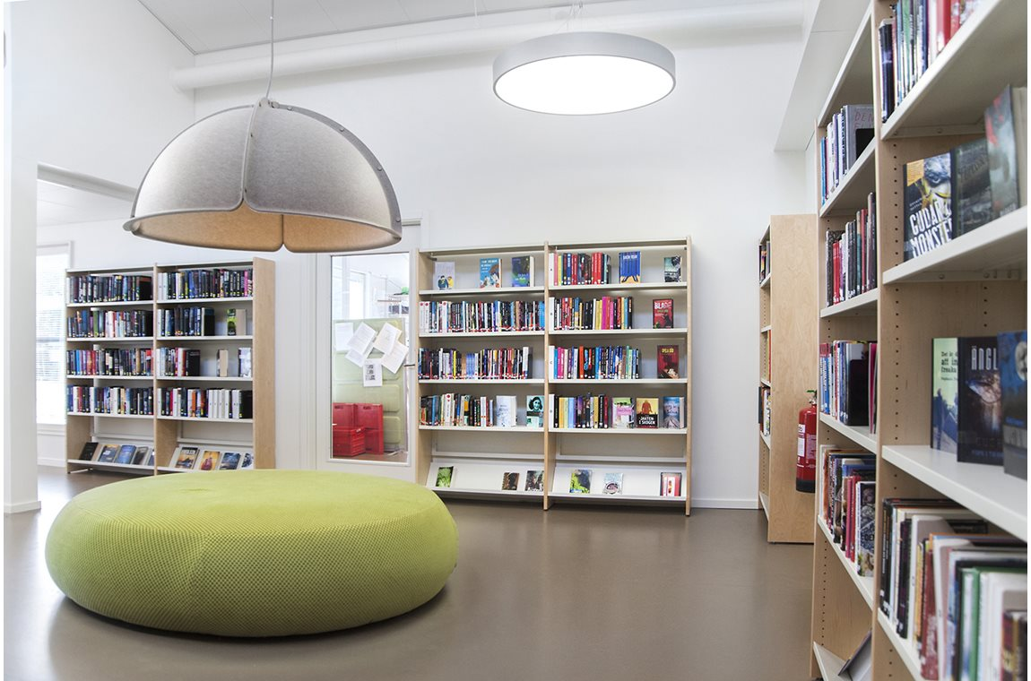 Saevja Public Library, Sweden - Public libraries