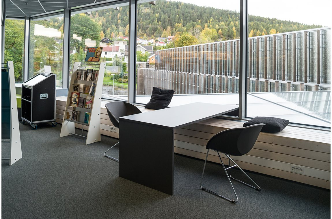 Kongsberg Public Library, Norway - Public libraries