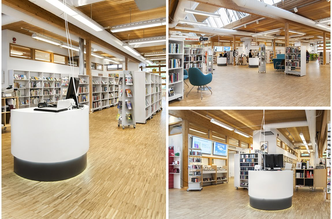 Ystad Public Library, Sweden - Public libraries