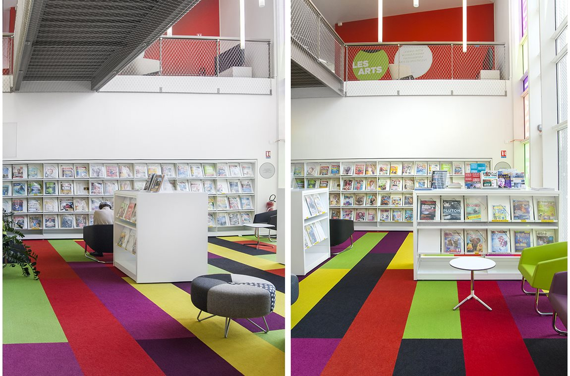 Chelles Public Library, France - Public libraries