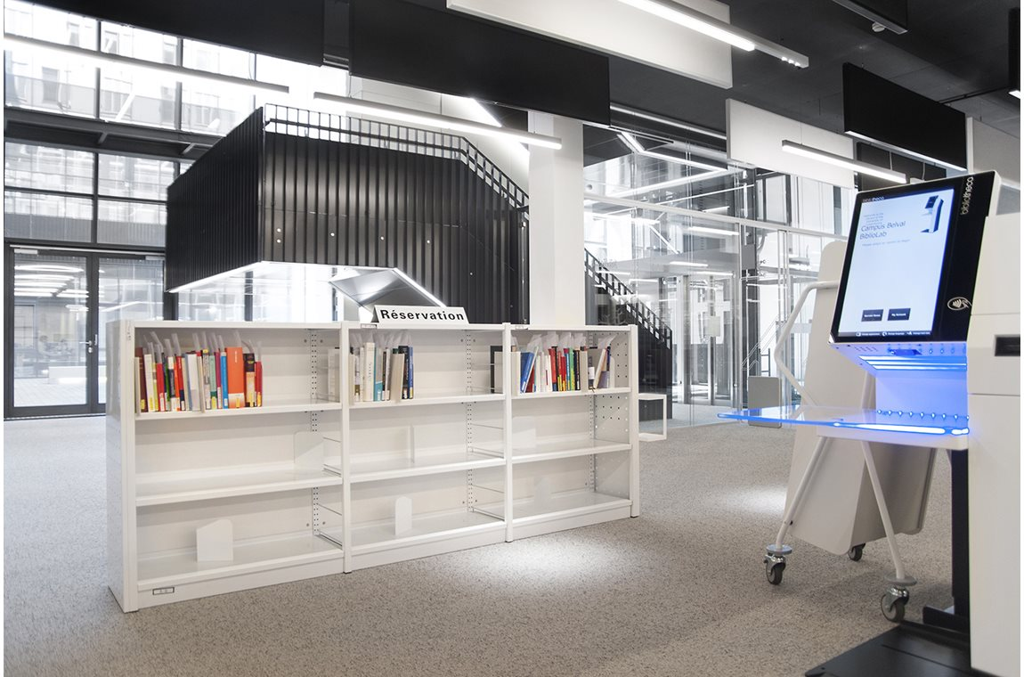 BiblioLab Campus Belval, University of Luxembourg, Esch-zur-Alzette - Academic libraries