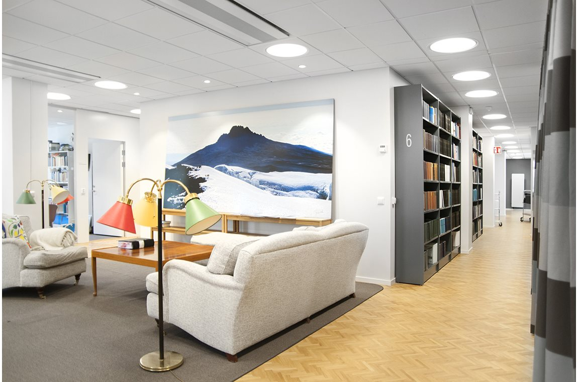 Setterwalls, Stockholm, Sweden - Company libraries