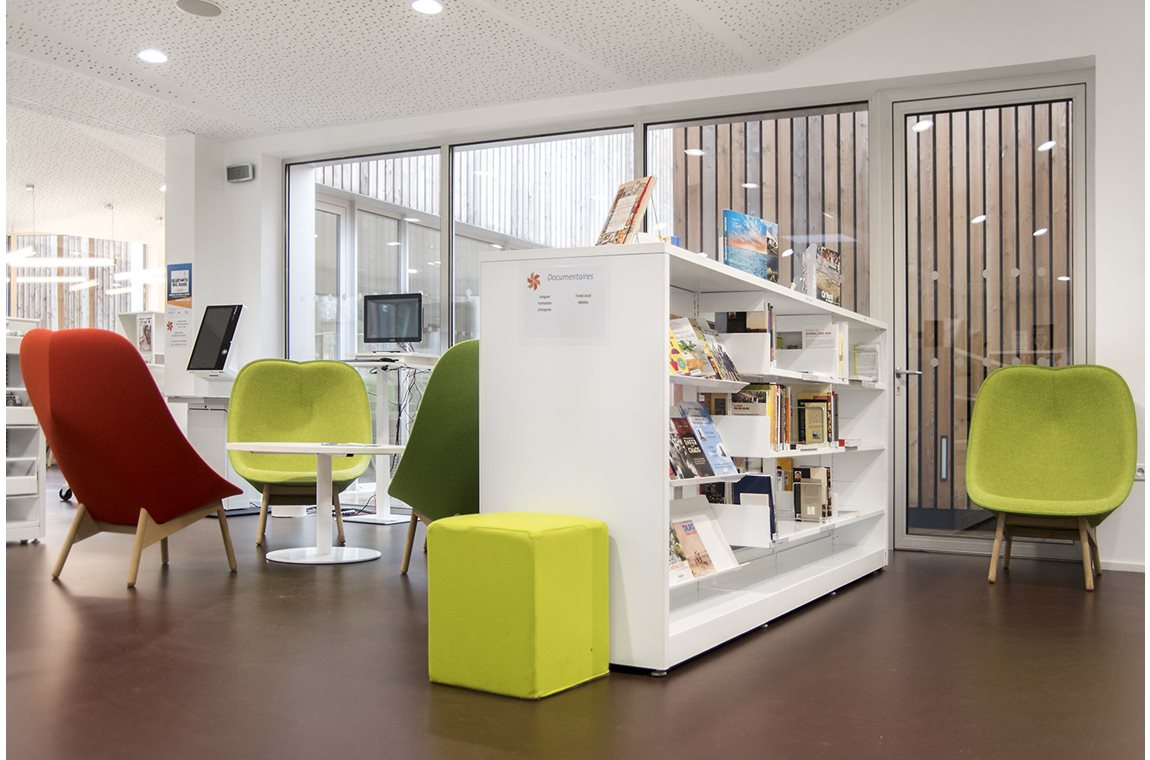 Bonningues les Calais Public Library, France - Public libraries