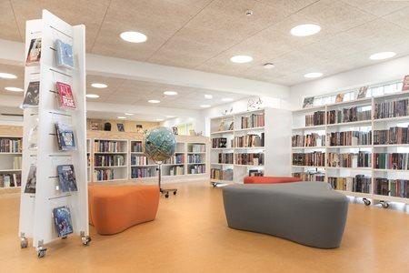 Lykkesgrdskolen School Library Varde Denmark