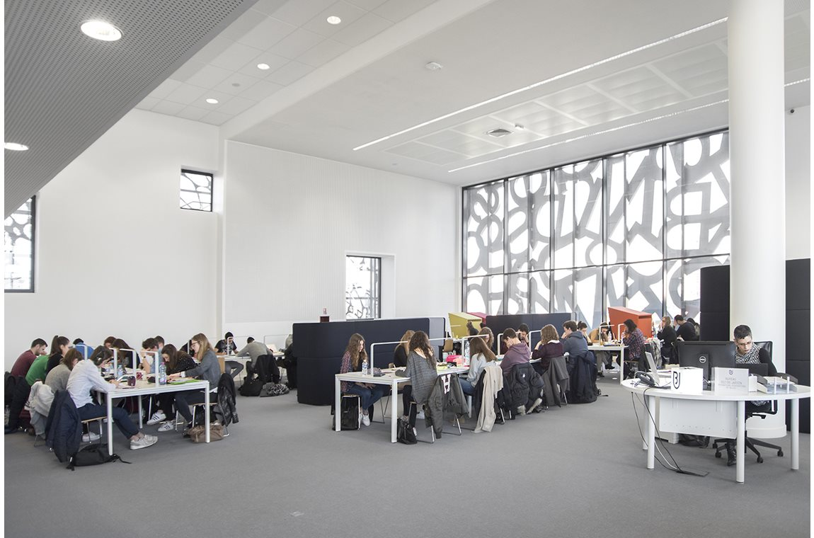 BU Learning Centre, Lille, France - Academic libraries