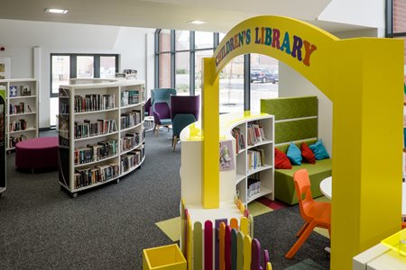 International Interior Design That Makes A Difference - Library furniture