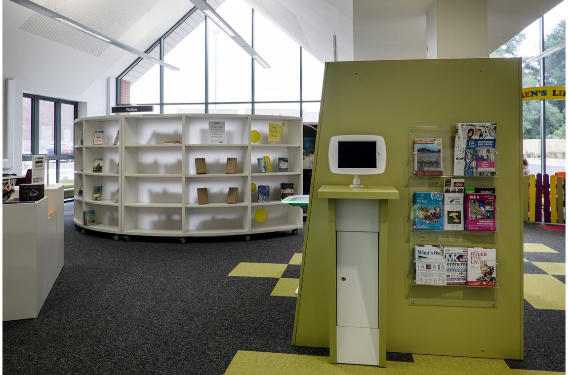 Moulton Public Library, Northamptonshire, United Kingdom - Public libraries