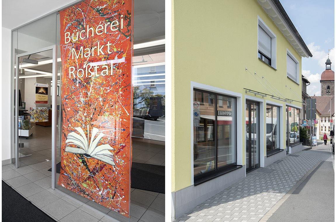 Markt Rosstal Public Library, Germany - Public libraries