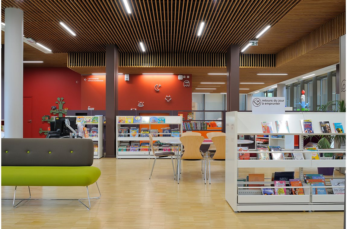 Lyon Gerland Public Library, France - Public libraries