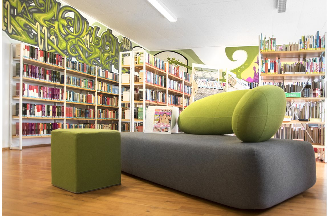 Schwandorf Public Library, Germany - Public libraries