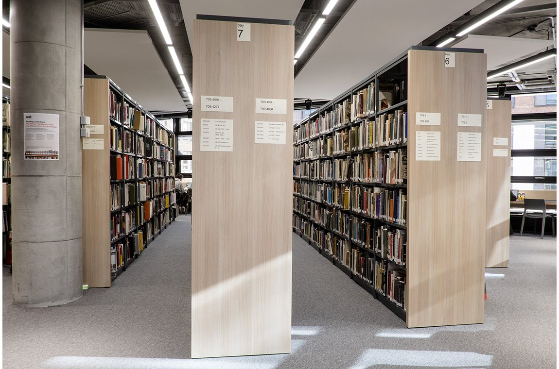 Camberwell College of Arts, United Kingdom - Academic libraries