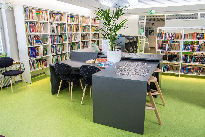 Nivala Public Library Finland