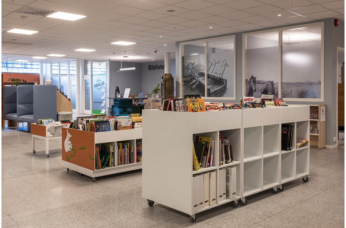 Trøgstad Public Library, Norway - School libraries