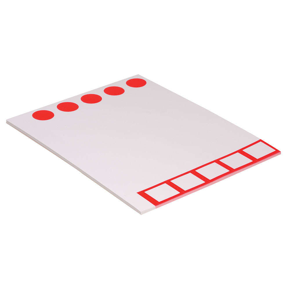 E3211 - Single plain block label in sheets