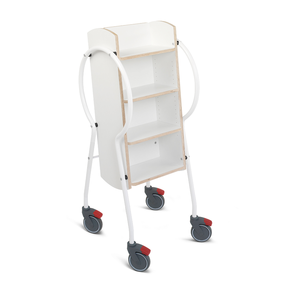 E5001 - Push & Pull Midi Book Trolley
