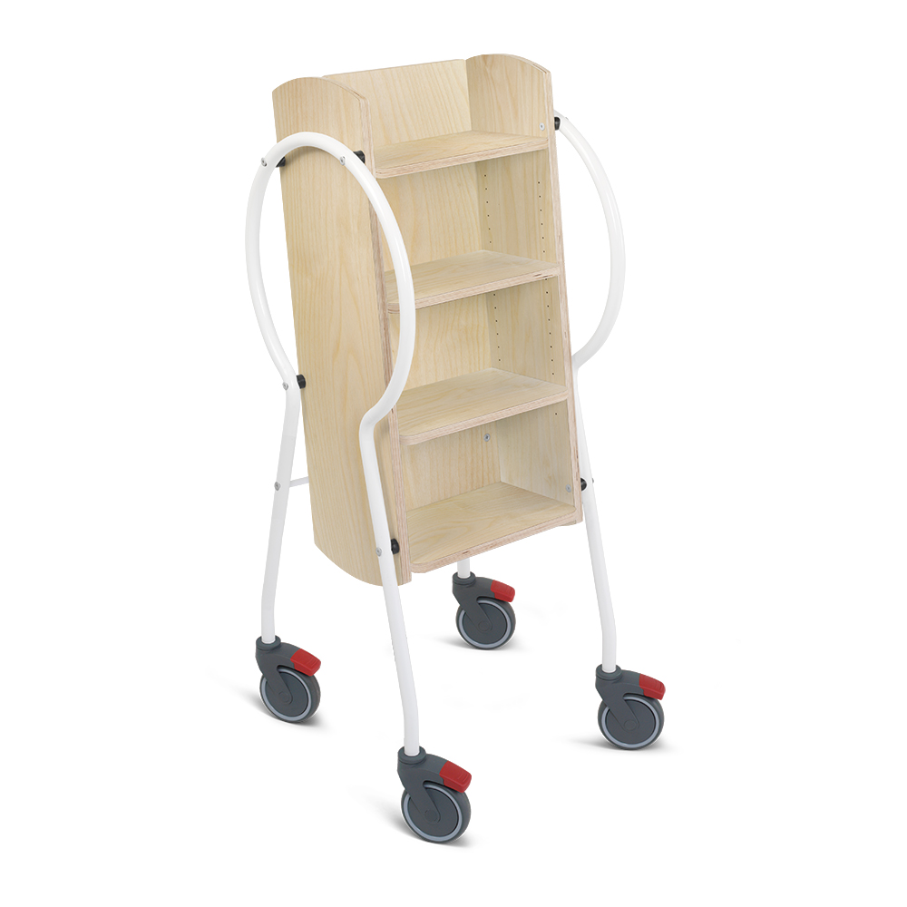 E5002 - Push & Pull Midi Book Trolley