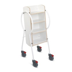 E5003 - Push & Pull Combi Book Trolley