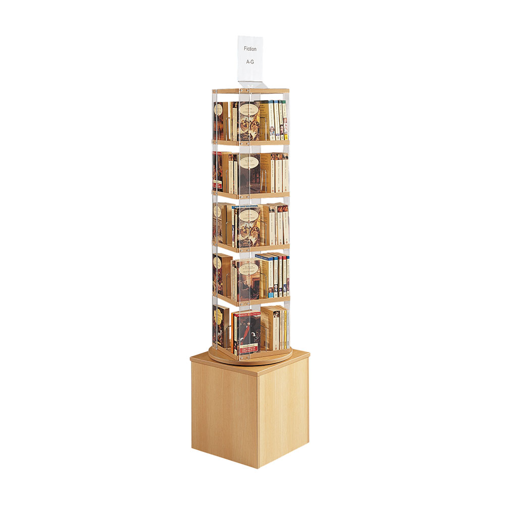 E23460 - Tower for paperbacks/DVDs