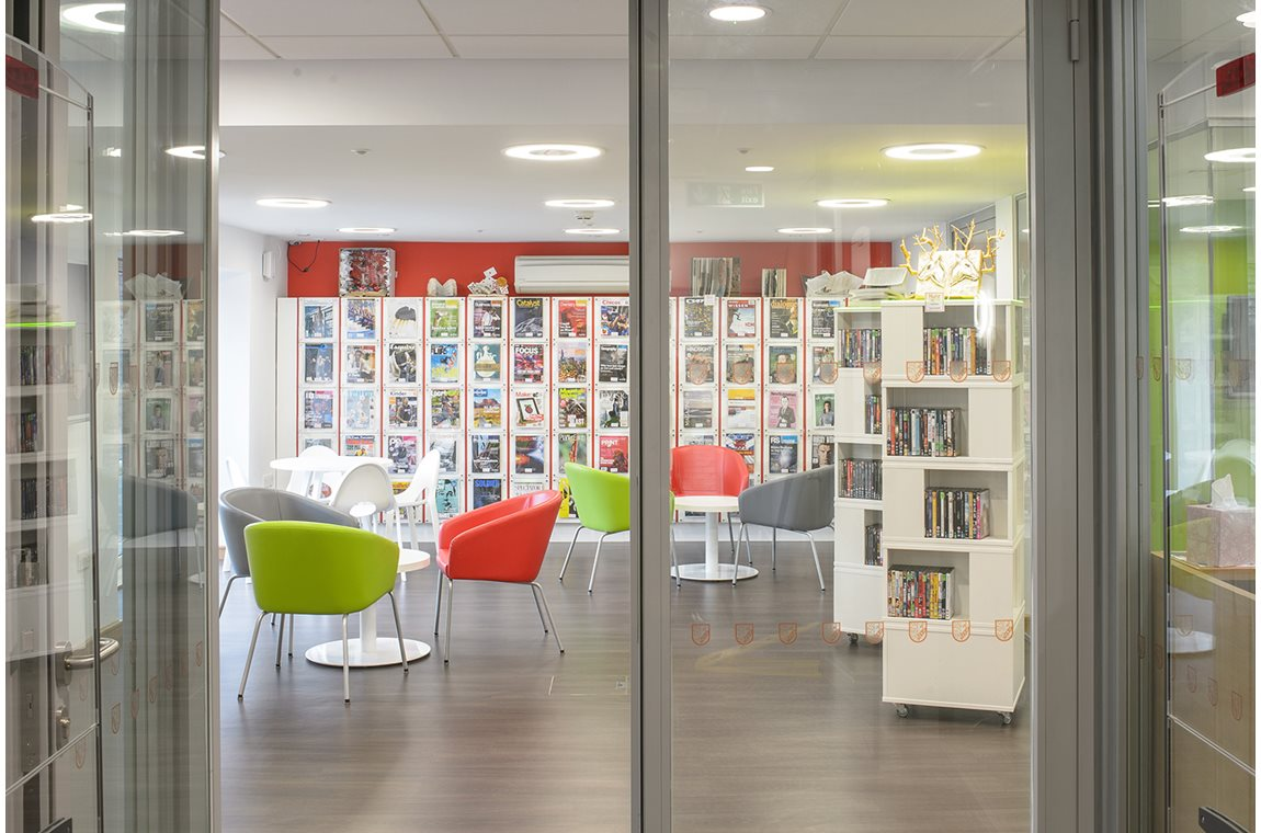 Hurstpierpoint College Library, United Kingdom - SchoolLibraries,AcademicLibraries