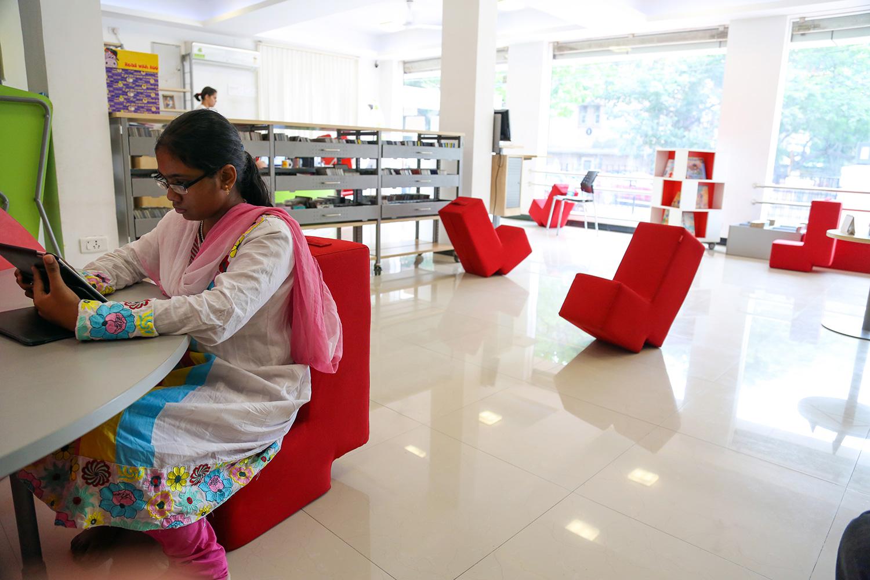 Chennai School Library In 007