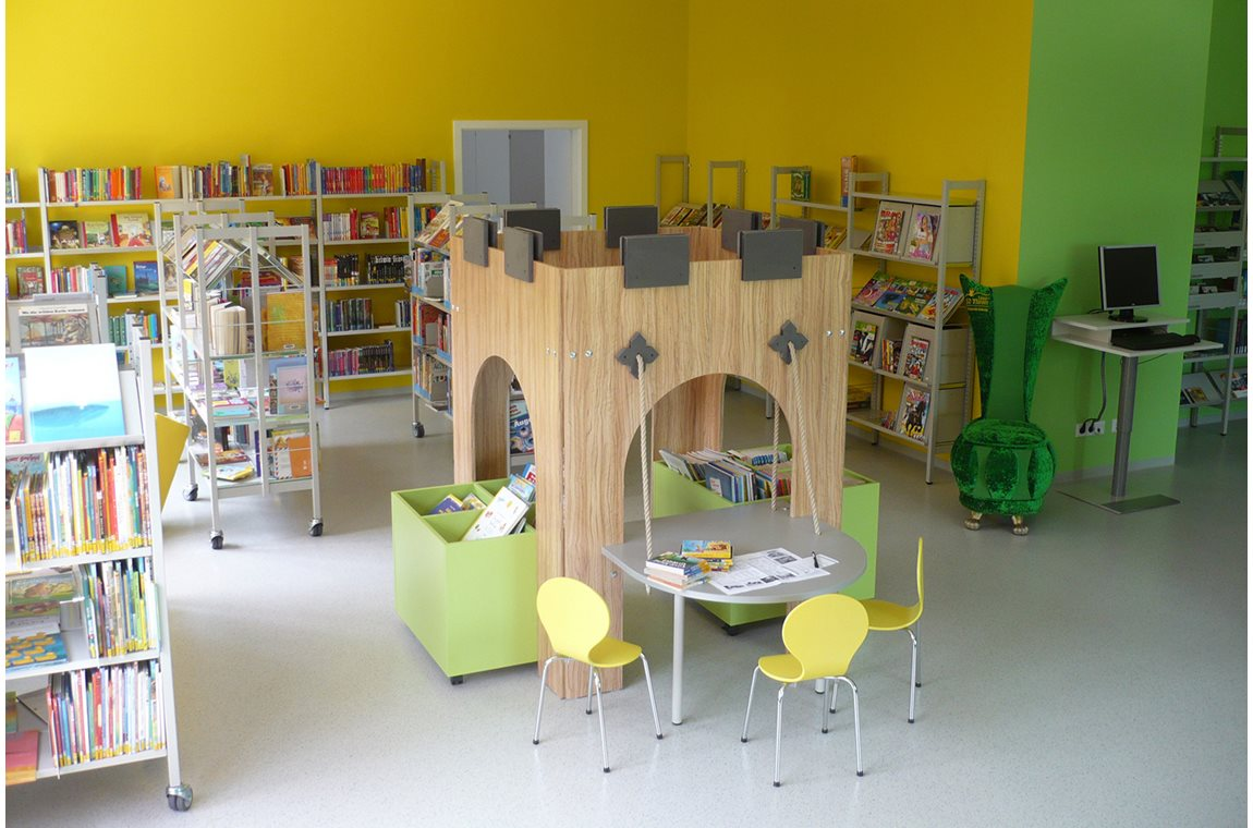 Dresden Klotzche Public Library, Germany - Public libraries